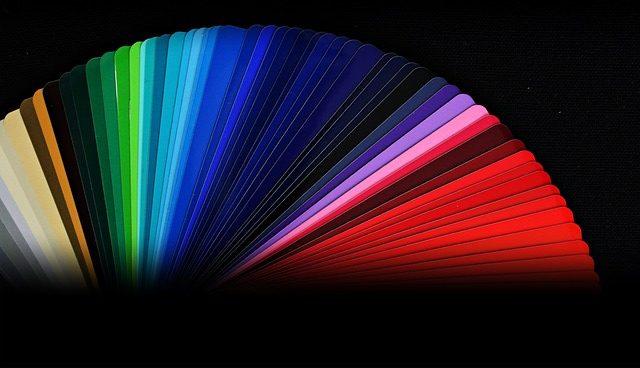 placing colors, red, pink, color, paint, diy, idea, light