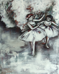Edgar Degas' Two Dancers